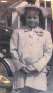 Sue Jorgensen as a first grader